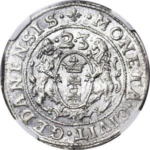 Zygmunt III Waza, Ort 1623, Gdańsk, menniczy
