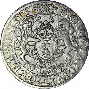 Zygmunt III Waza, Ort 1625, Gdańsk, PR, ładny
