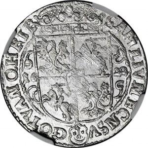 Zygmunt III Waza, Ort 1622, Bydgoszcz, PRVS.M+, WYŚMIENITY