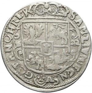 Zygmunt III Waza, Ort 1622, Bydgoszcz, destrukt, ciekawy