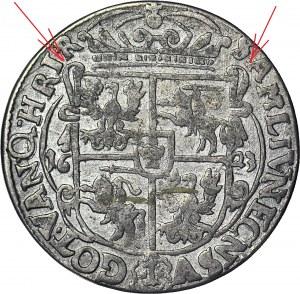 R-, Zygmunt III Waza, Ort 1623, Bydgoszcz, KOKARDY, rzadki