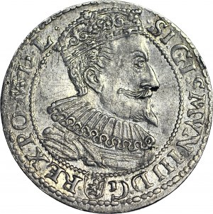 R-, Zygmunt III Waza, Szóstak 1596, Malbork, SEv, R6