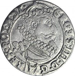 RR-, Zygmunt III Waza, Szóstak 1626, GROSS przebite na SIGIS