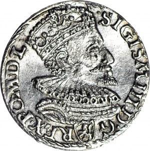 Zygmunt III Waza, Trojak 1594, Malbork, menniczy