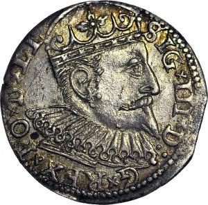 Zygmunt III Waza, Trojak 1599, Ryga, menniczy