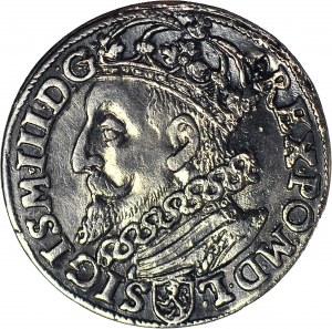 Zygmunt III Waza, Trojak 1600, Kraków, głowa w lewo, piękny