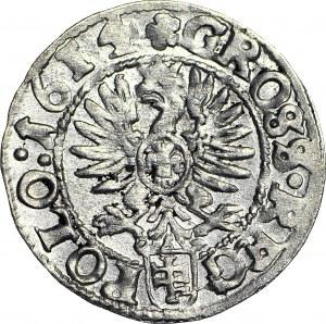 Zygmunt III Waza, Grosz 1614 Kraków, menniczy