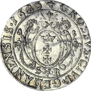 Zygmunt III Waza, Grosz 1623, Gdańsk