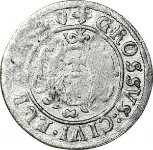 RR-, Gustaw II Adolf, Grosz 1629/1620, Elbląg, R5