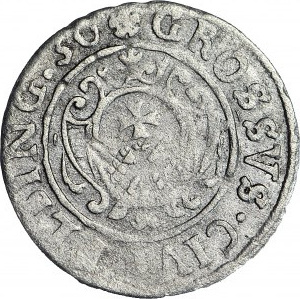 Gustaw II Adolf, Grosz 1630, Elbląg