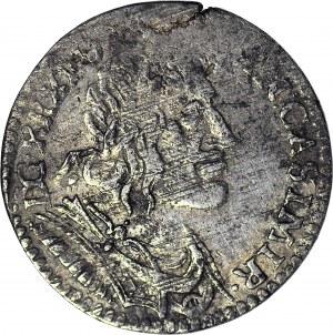 Jan II Kazimierz, Ort 1651, Wschowa, szerokie popiersie
