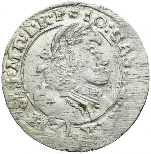 RR-, Jan Kazimierz, 3 krajcary 1661, Opole, ładne