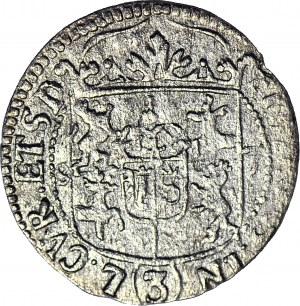 RR-, Kurlandia, Fryderyk Kettler, Półtorak 1687 z tytulaturą Sobieskiego, Mitawa, R6
