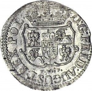 August III Sas, 1/24 talara (grosz) 1752 FWôF, Drezno, menniczy