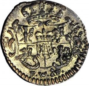 August III Sas, Halerz 1754 FWoF, menniczy