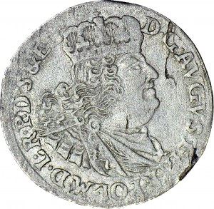 R-, August III Sas, Szóstak 1763, Gdańsk, R2