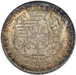 Fryderyk Krystian, Talar 1763, Drezno, menniczy