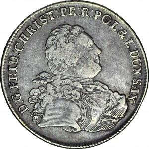 Fryderyk Krystian, Talar 1763 IFôF, oznaczenie S, Lipsk