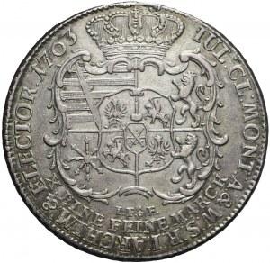 Fryderyk Krystian, Talar 1763, Drezno