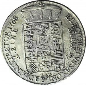 Ksawery jako administrator, Talar 1768, Drezno