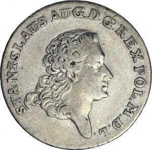 Stanisław A. Poniatowski, Dwuzłotówka 1767 FS