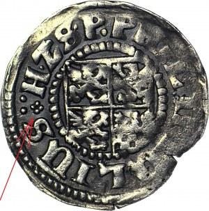 R-, Pomorze, Księstwo Wołogoskie, Filip Juliusz, Grosz 1609, Nowopole, rzadki pierwszy rocznik