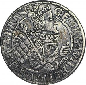 Lenne Prusy Książęce, Jerzy Wilhelm, Ort 1622, Królewiec, w zbroi