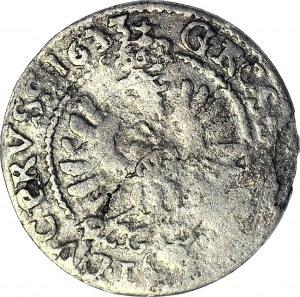 RRR-, Lenne Prusy Książęce, Jerzy Wilhelm, Grosz 1633, Królewiec