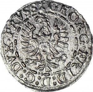 RR-, Jerzy Fryderyk von Ansbach, Ternar 1586, Królewiec, NAJRZADSZY