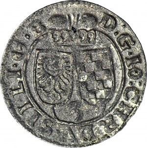 Śląsk, Jan Chrystian Brzeski, 3 krajcary 1622 HR, Oława