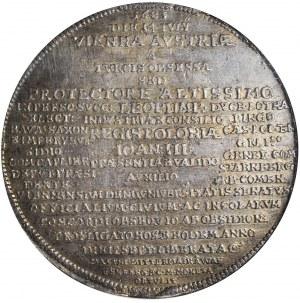 Talar medalowy Odsiecz Wiedeńska 1683, Leopold I, Wiedeń