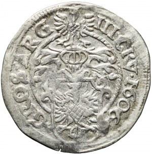 Śląsk, Księstwo Cieszyńskie, Adam Wacław, 3 krajcary 1606, Cieszyn, bardzo ładne