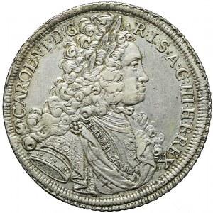 Śląsk, Karol VI, Talar 1716, Wrocław