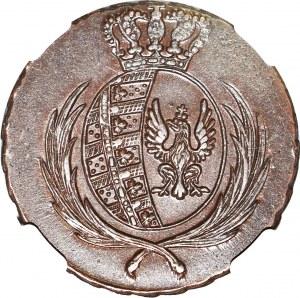 Księstwo Warszawskie, 3 grosze 1812 IB, mennicze
