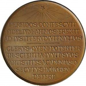 R-, Medal 1888, biskup Michał Nowodworski, brąz 50mm