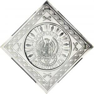R-, PRÓBA, Klipa, 10 złotych Piłsudski 1934, piękna