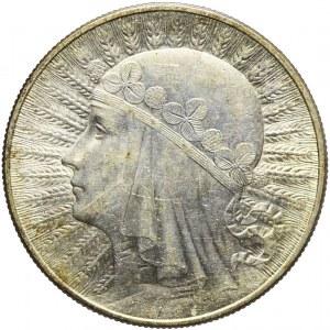 10 złotych 1932, Głowa, Warszawa, mennicza