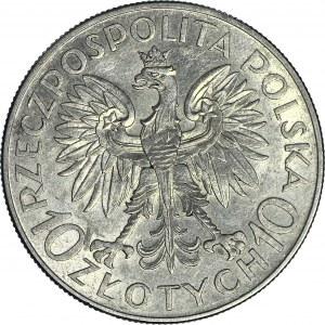 10 złotych 1933, Sobieski, menniczy