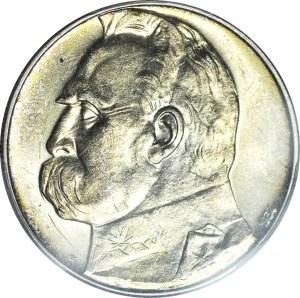 10 złotych 1934, Piłsudski, ORZEŁ STRZELECKI, menniczy