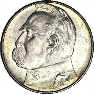 10 złotych 1935, Piłsudski, GABINETOWY