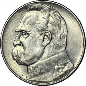 10 złotych 1935, Piłsudski, ładny