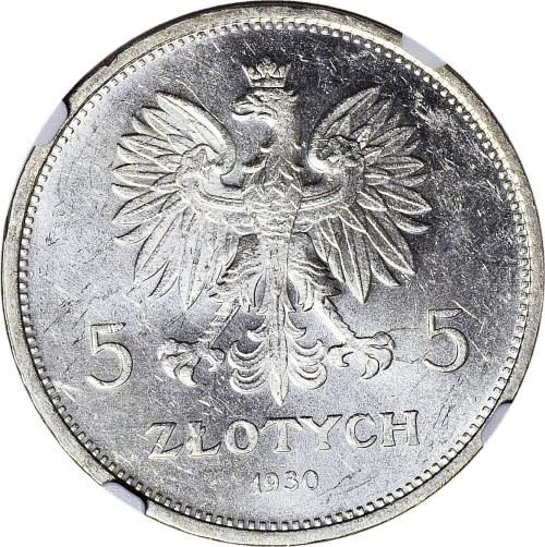 5 złotych 1930, Sztandar, WYŚMIENITY