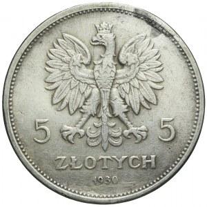 5 złotych 1930 Nike, rzadki rocznik