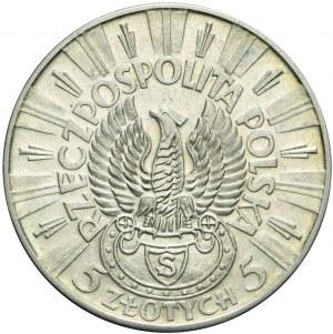 5 złotych 1934, Piłsudski, orzeł strzelecki