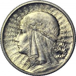 2 złote 1933, Głowa, mennicza