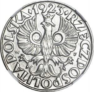50 groszy 1923, rzadkie, mennicze