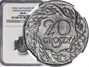 20 groszy 1923, Okupacja, WYŚMIENITE