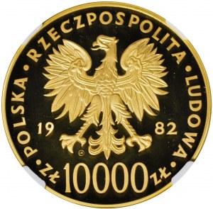 10000 złotych 1982 Jan Paweł II, złoto