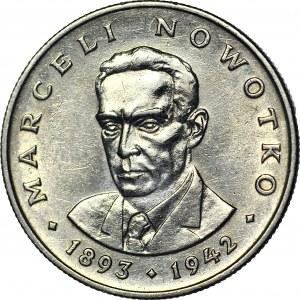 RR-, 20 złotych 1974, Nowotko, MAŁY ORZEŁ, rzadkość