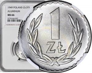 1 złoty 1949, mennicze